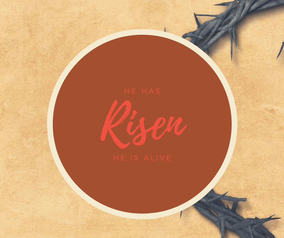 He has Risen, He is alive